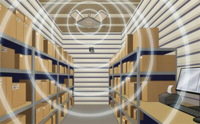 how rfid used in warehouse