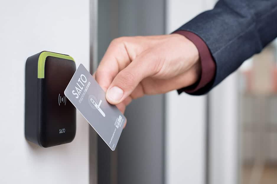 hotel key card and locks