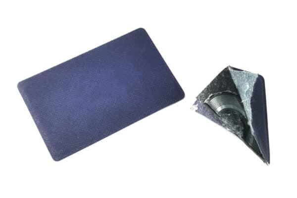 leather key card