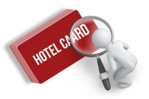 QC of hotel key card