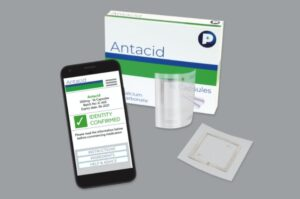 nfc inlays for cost-sensative drugs