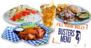Buster's Website/Menu