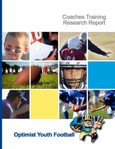 Optimist Youth Football Report Cover