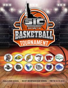SIC Basketball Tournament Program Cover