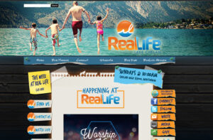 RealLife Web Front Page