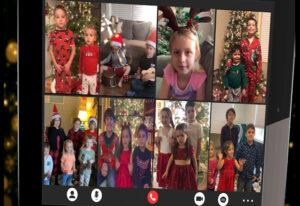 RealLife Kids Christmas Zoom Call