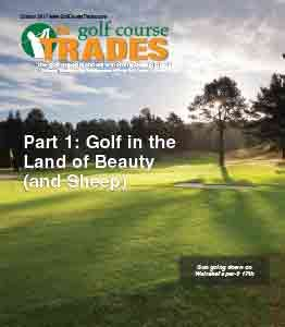 October 2017 Golf Course Trades
