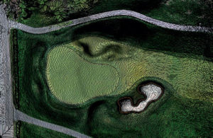Jim Cervone, ASGCA, considers the drone 'a wonderful addition to the toolbox' and has used it to produce topographic maps with one-inch contour precision