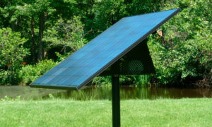 PondHawk is LINNE's solar-powered subsurface aeration