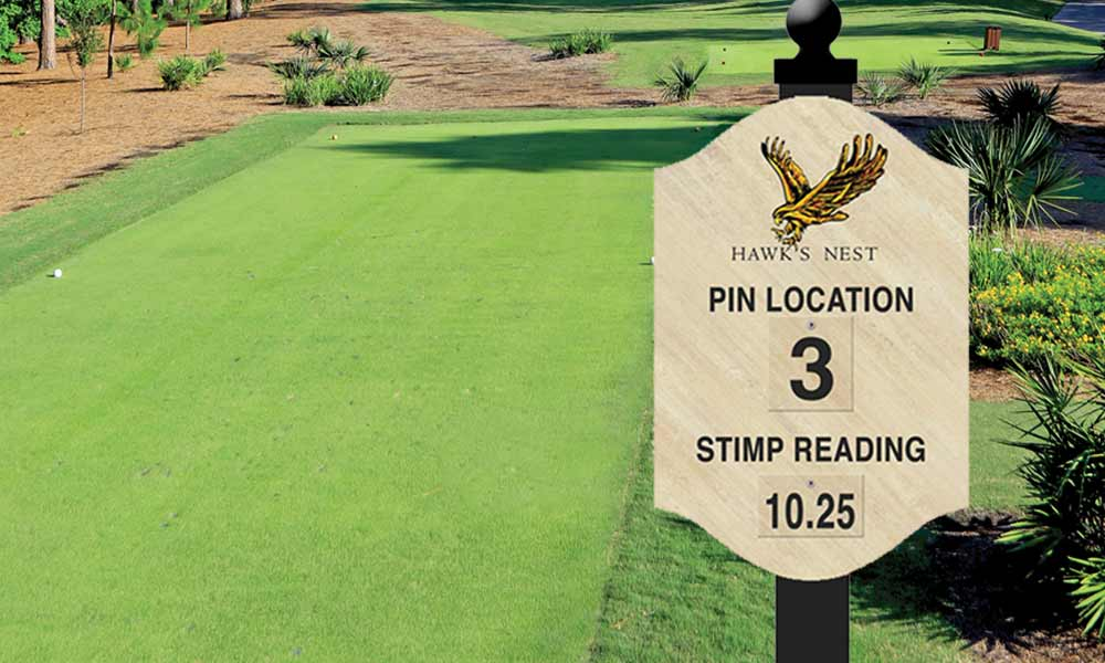 Golf Sign and Design
