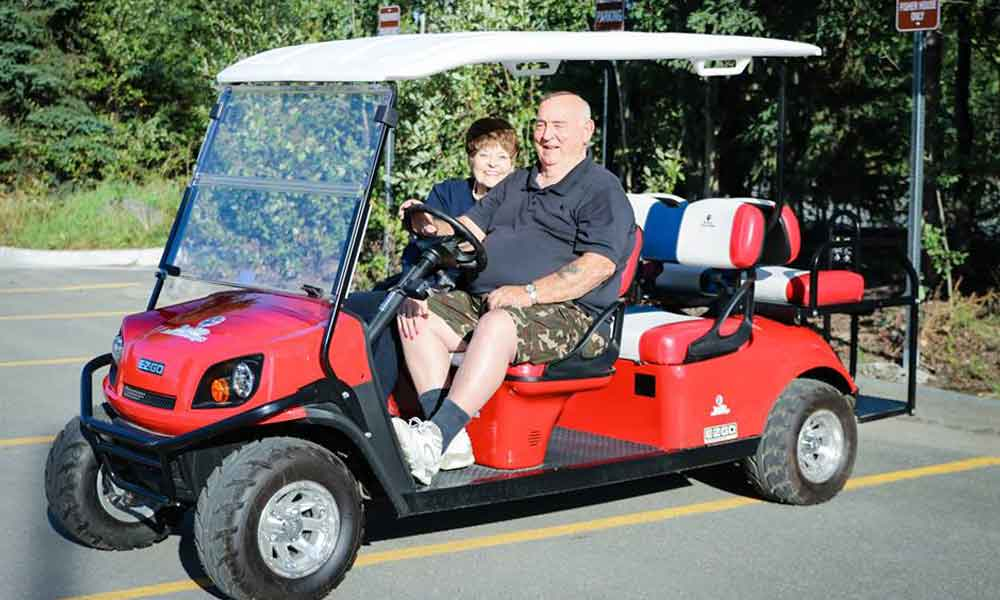 Tee it Up for the Troops EZGO Donation