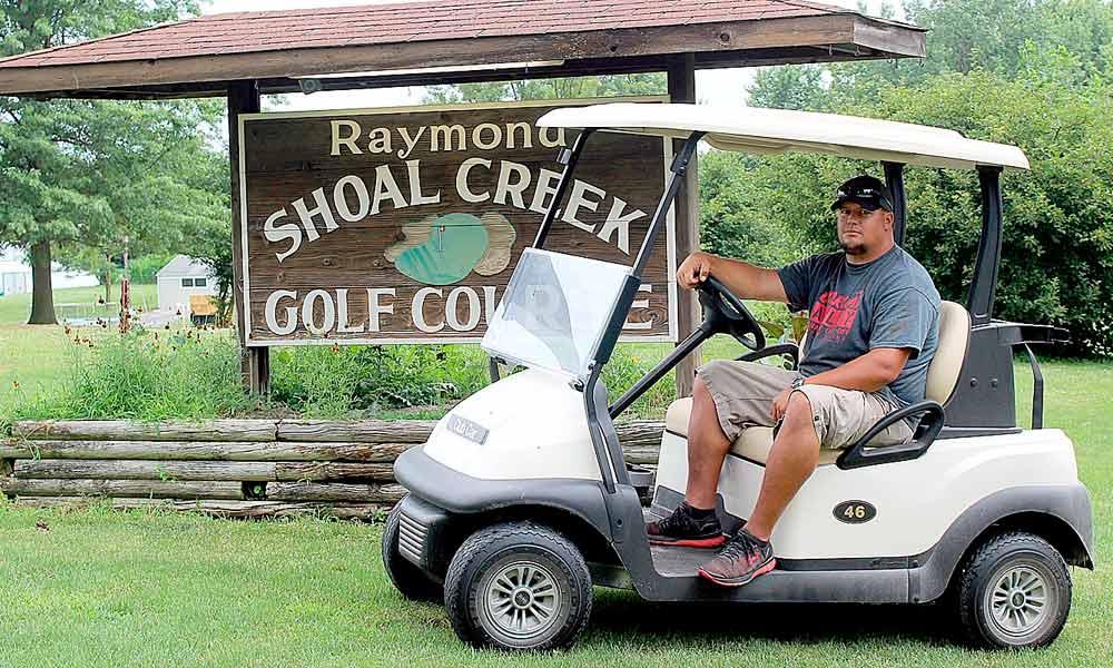 Shoal Creek Golf Course's new superintendent, Drew Eilerman