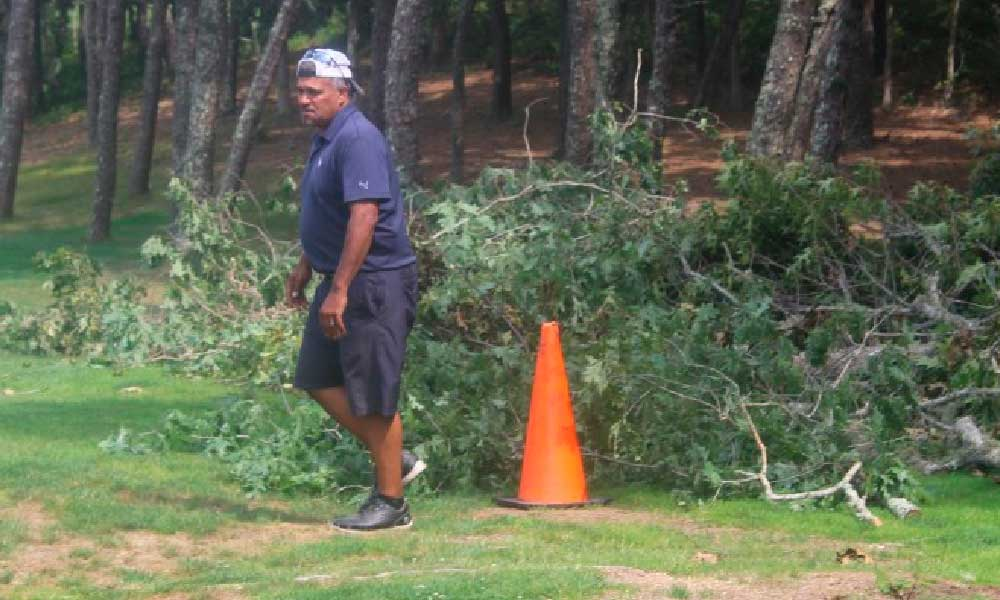 Cranberry Valley Golf Course Superintendent Shawn Fernandez