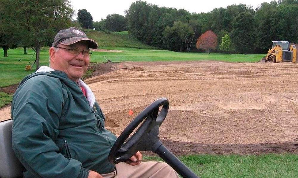 Belvedere Golf Club superintendent Rick Grunch Charlevoix golf course