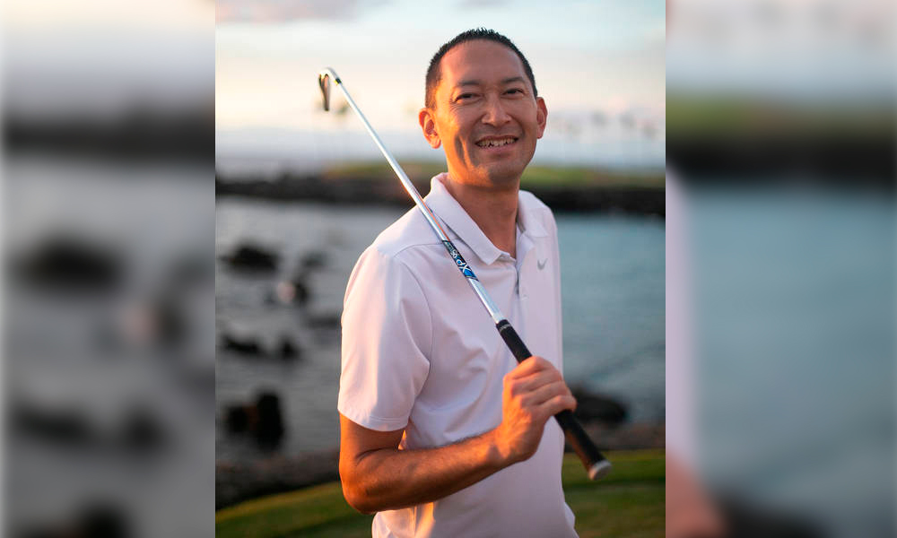 Chris Noda Director of Golf at Mauna Lani Golf