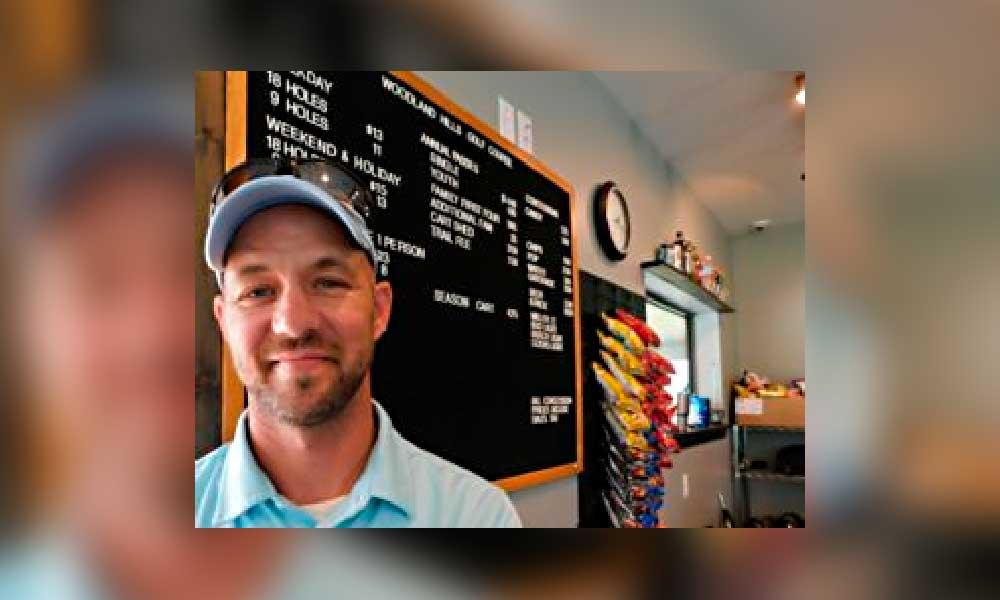 Doug Guns, Woodland Hill Golf Course Superintendent started his job Sept. 16, 2019.