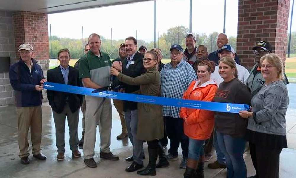 Ribbon Cutting at Hobson Golf Course re-open