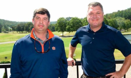 Cherokee Ridge's new golf course superintendent Walker Bryant, left, with head pro and general manager Barkley Martin.