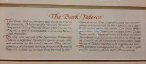 the cargo bark Tedesco