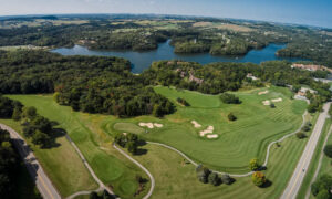 Eagle Ridge Resort and Spa Aerial
