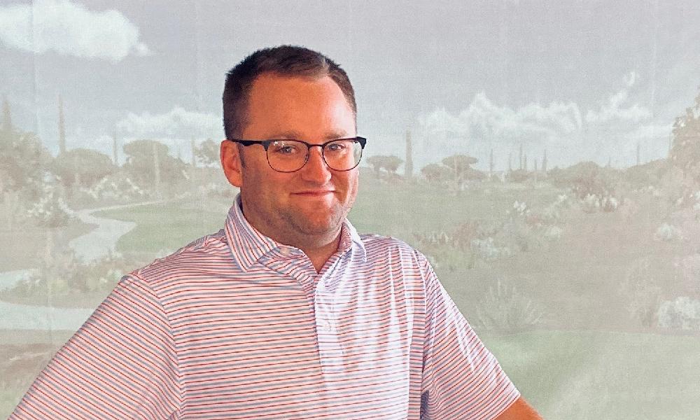 Ryan Brown Director of Golf for Eagle Ridge Resort & Spa