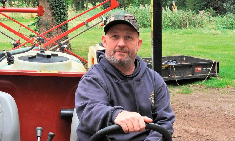 Matt Booth Head Greenkeeper at Wakefield Golf Club