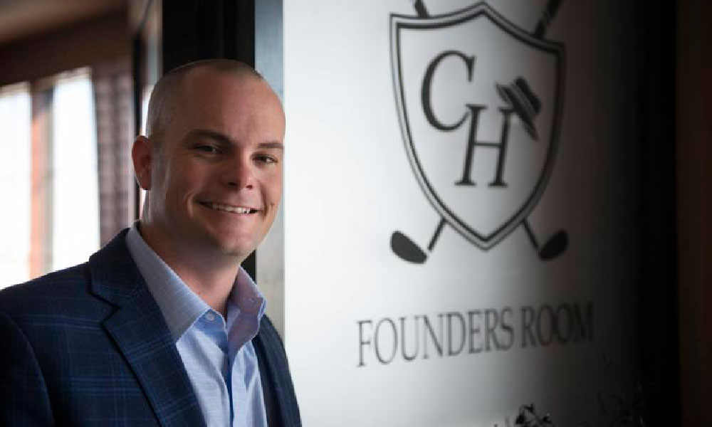 Matt Gourlay, superintendent for the Colbert Hills Golf Course