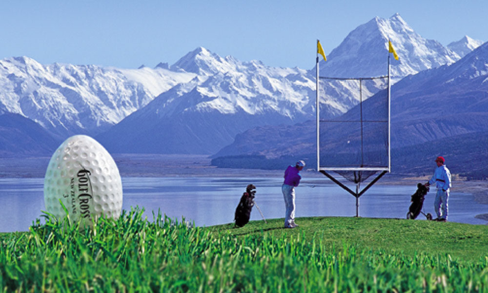 GolfCross Originated on New Zealand's South Island