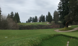 The New 7th Hole at Sand Point Designed by David McLay Kidd (Photo by Jeff Shelley)