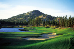 Okanagan Golf Club Hole 13 - The Bear