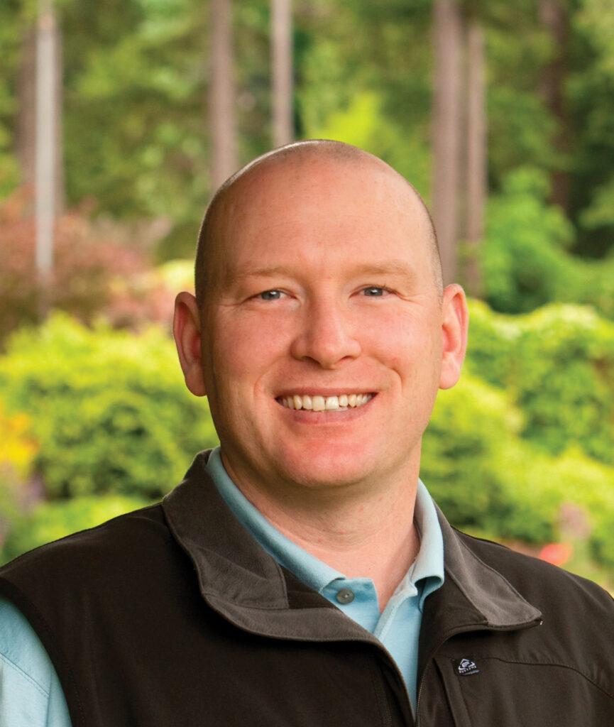 Sean McDonough, Superintendent  at Broadmoor Golf Club in Seattle