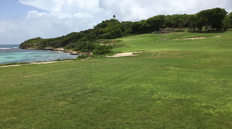 The Fifth Hole at Mill Reef Club