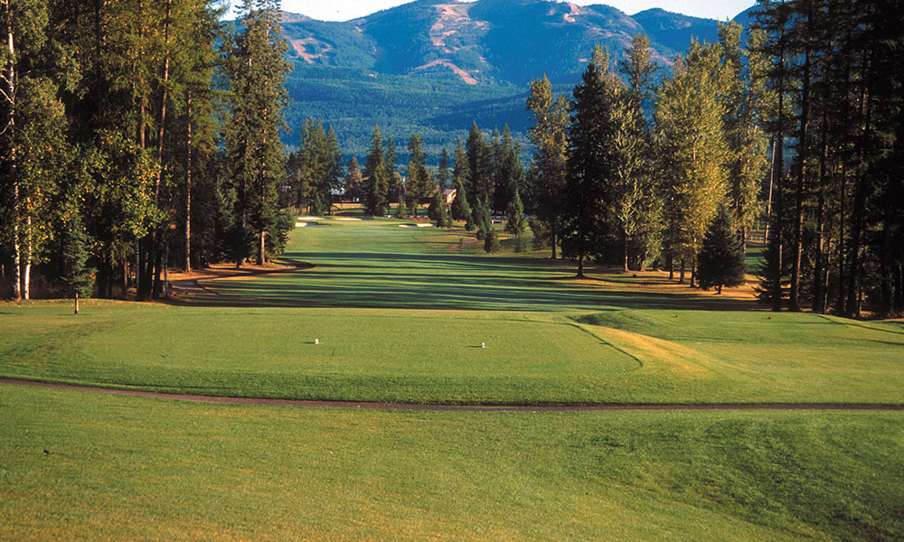 4th Hole on the North Course at Whitefish Lake