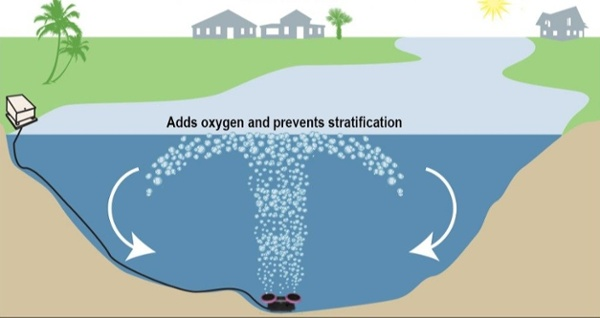 The benefits of submersed aeration
