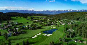 Beautiful Eagle Bend GC in Bigfork (Image Courtesy of Derrick Mitchell Photography)