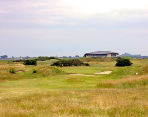 The 17th hole at St Anne's Golf Club