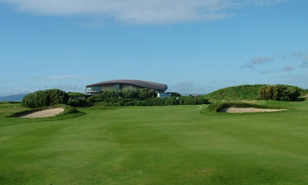 The Approach to 4th Green at St. Anne's Golf Course