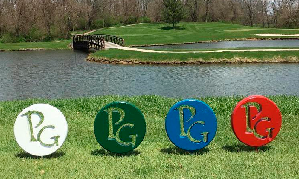 tee markers for Springfield golf course