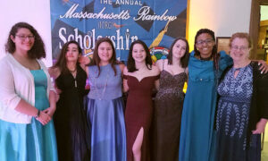 Becky (Right) Pictured Chaperoning The Annual Scholarship Ball For The International Order Of The Rainbow For Girls./Courtesy Becky Snyder