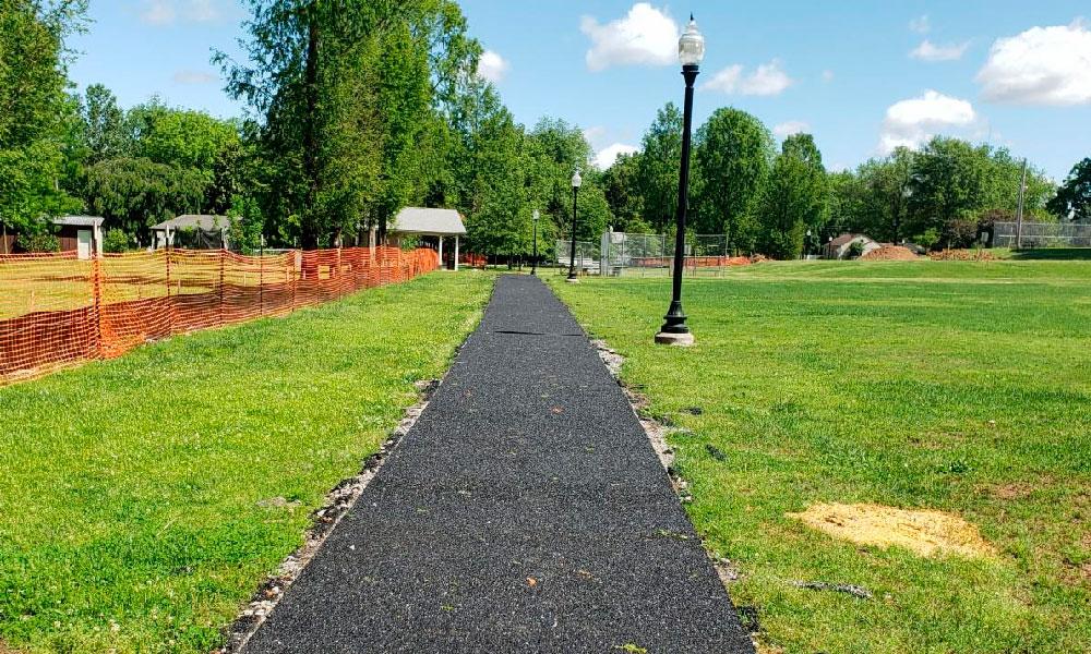 Porous Pave Path Trail