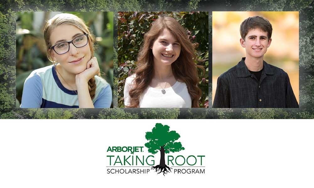 Arborjet Taking Root Scholarship Program