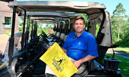 Mark Neva has been the head PGA golf professional at Deacon's Lodge for 21 years. He remains the only head professional in Deacon's Lodge history. Steve Kohls / Brainerd Dispatch