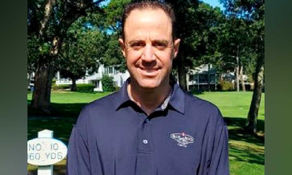 Mark Bornas Superintendent of Blue Rock Golf Course