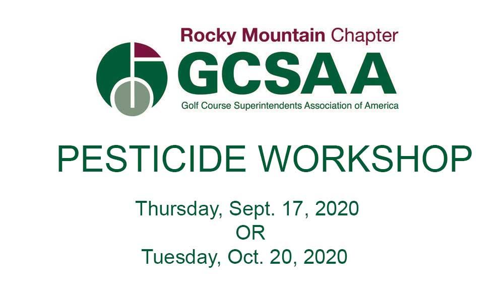 RMCG-Pesticide Workshop