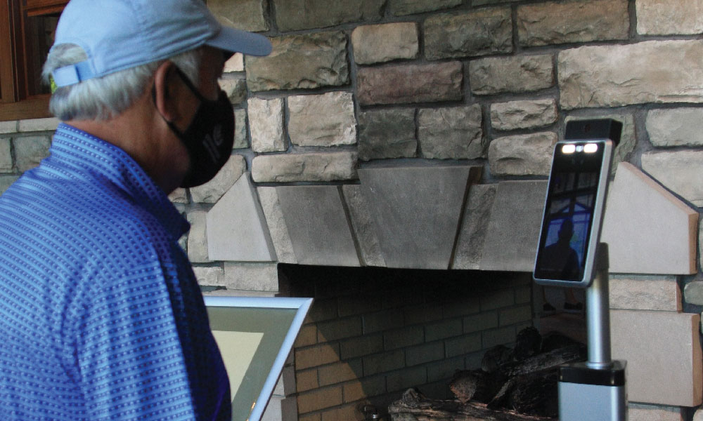 StoneWater Golf Club Temperature Checks