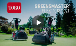 Toro Greensmaster Flex Series