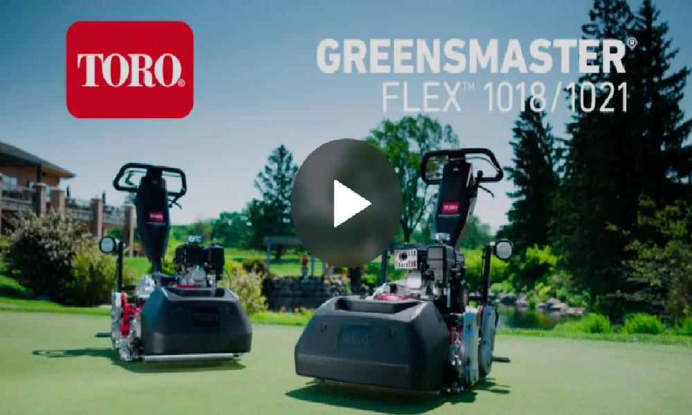 Toro Greensmaster Flex Series
