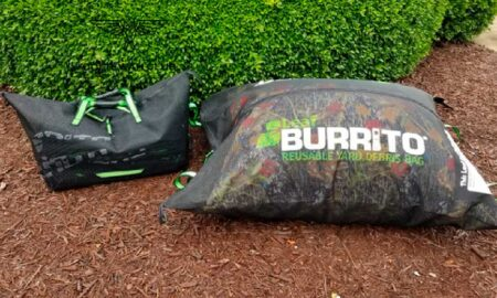 Leaf Burrito Tote Form and 5-Footer