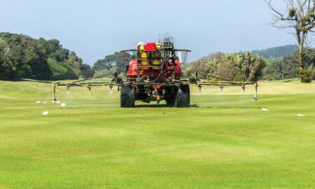Golf Course Chemical Spray