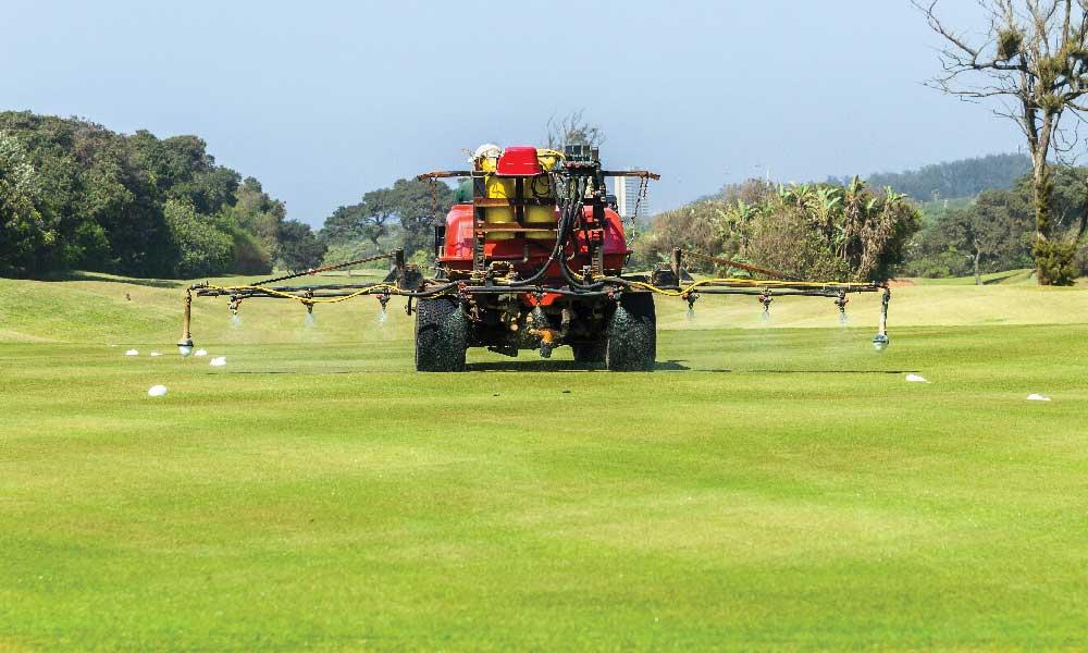 Golf Course Chemical Spray